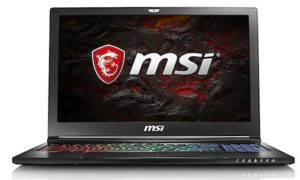 MSI Stealth Pro GS63VR 7RF-634XES