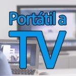 Conectar portátil a TV