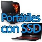 Portátiles con SSD