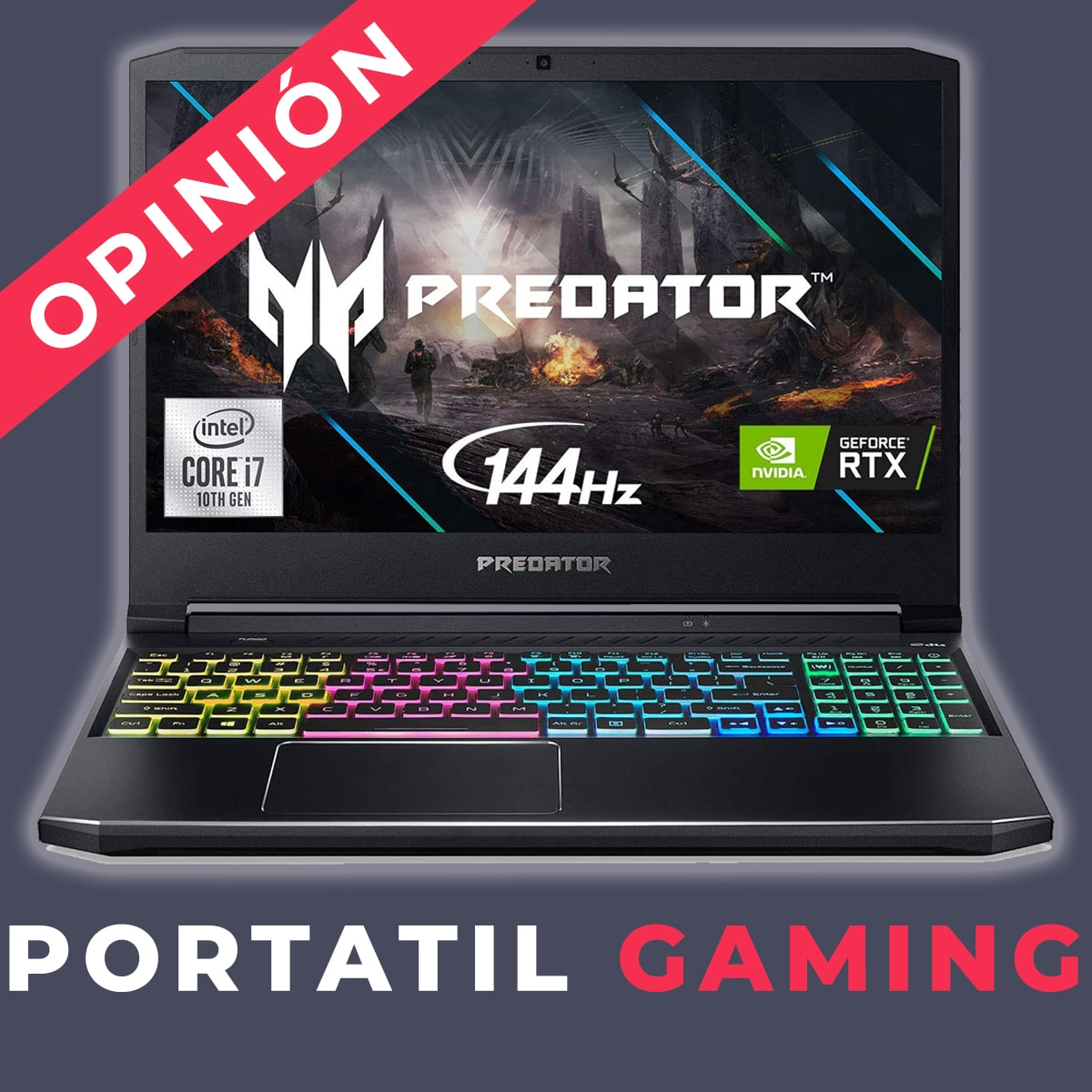 portatil gaming