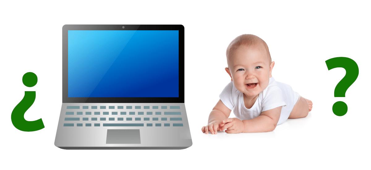 a que edad comprar un portátil para niños
