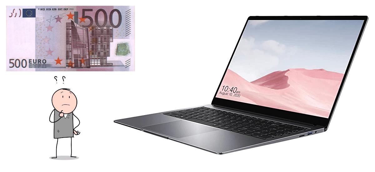 Es bueno un portátil de 500 euros
