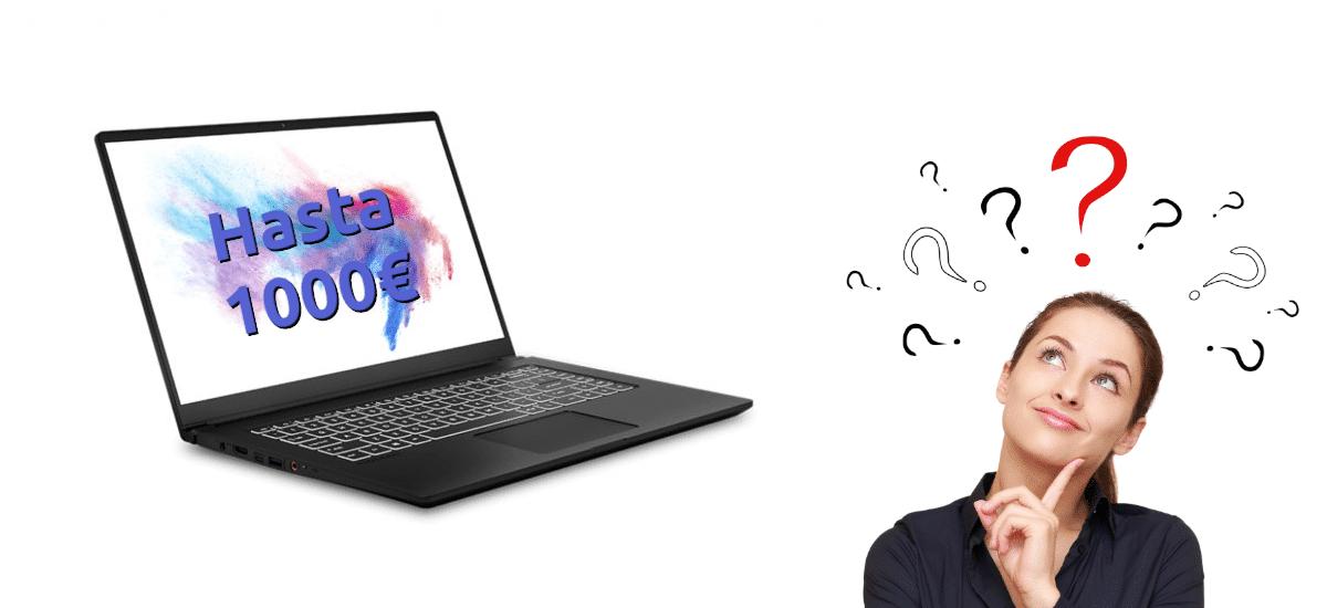Revisão 1000 euros laptop