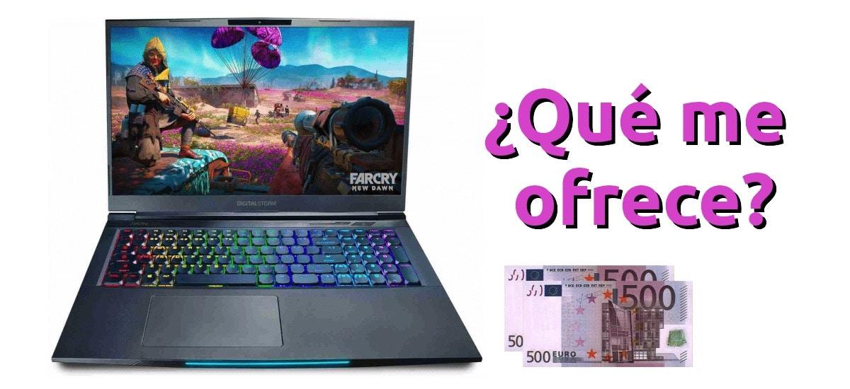 características de un portátil gaming por menos de 1000 euros