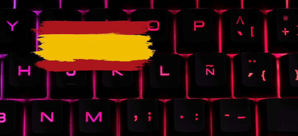 Teclado español en portátil chuwi