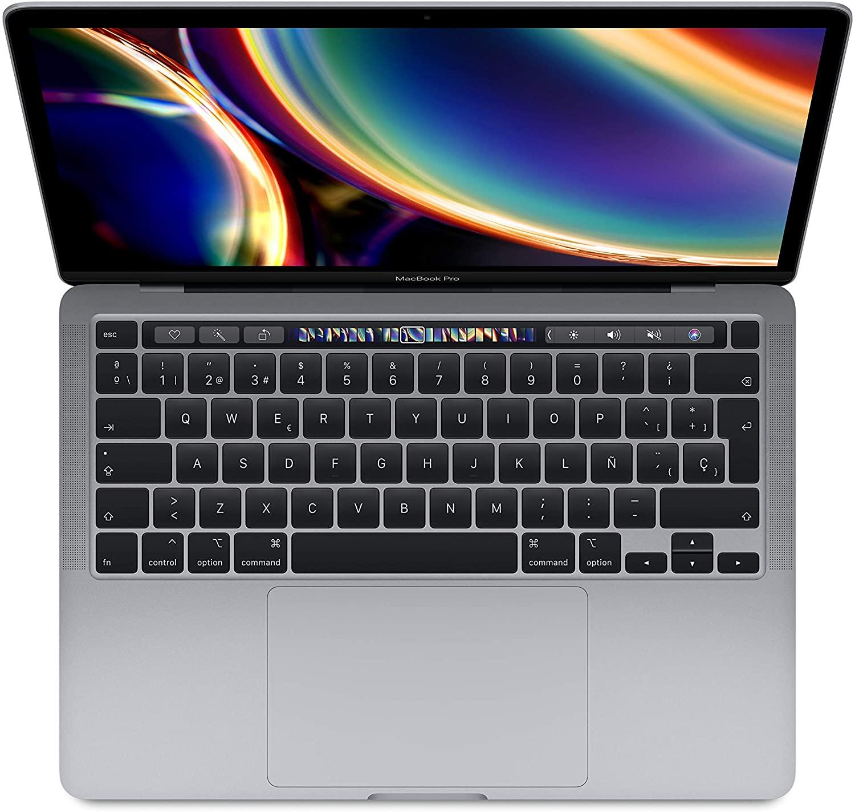 MacBook visto desde arriba