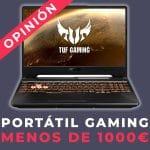 Portátil gaming por menos de 1000 Euros