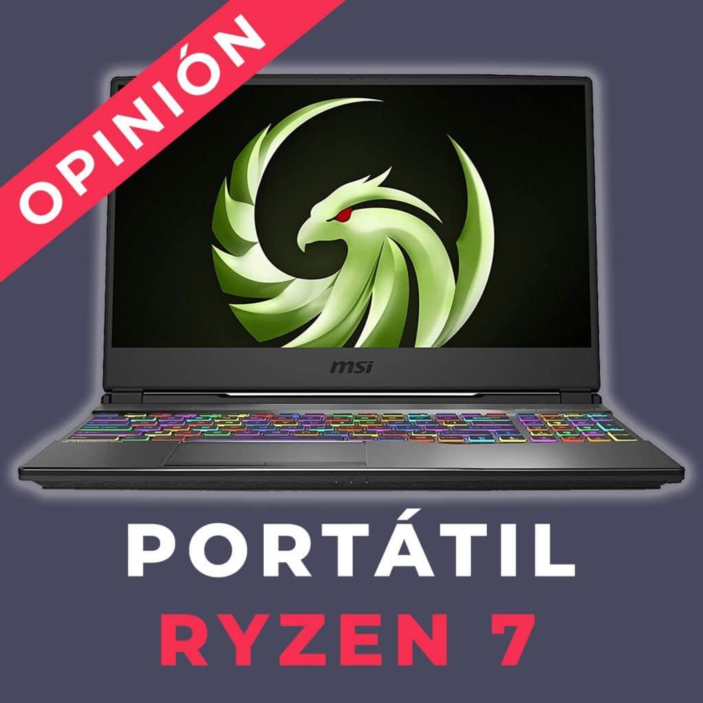 Laptop Ryzen 7